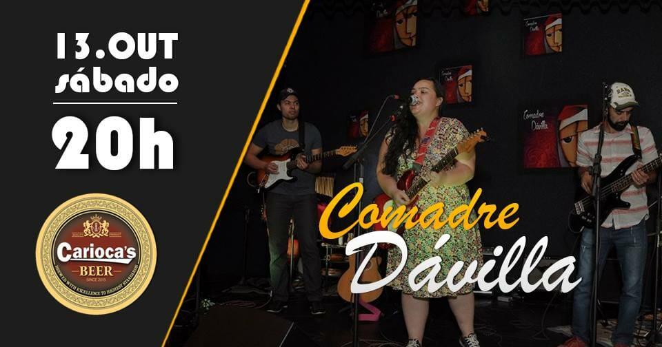 Banda Comadre Dávilla - Cariocas Beer - Teresópolis