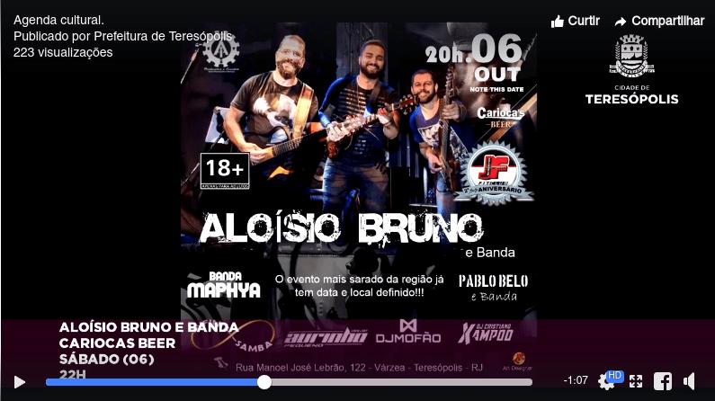 Aloísio Bruno E Banda - Carioca's Beer - Teresópolis