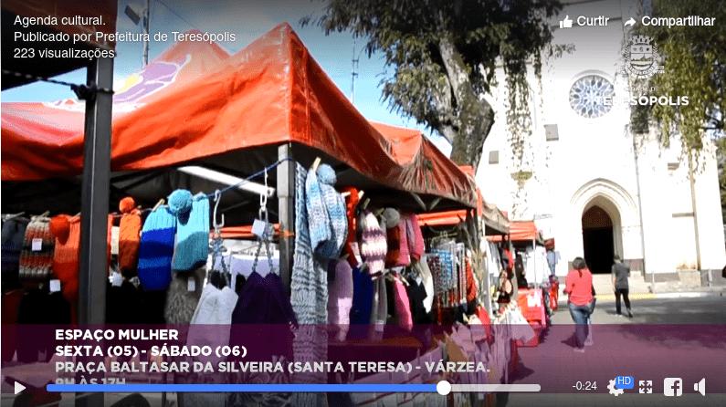 Espaço Mulher - Praça Baltazar Da Silveira - Teresópolis